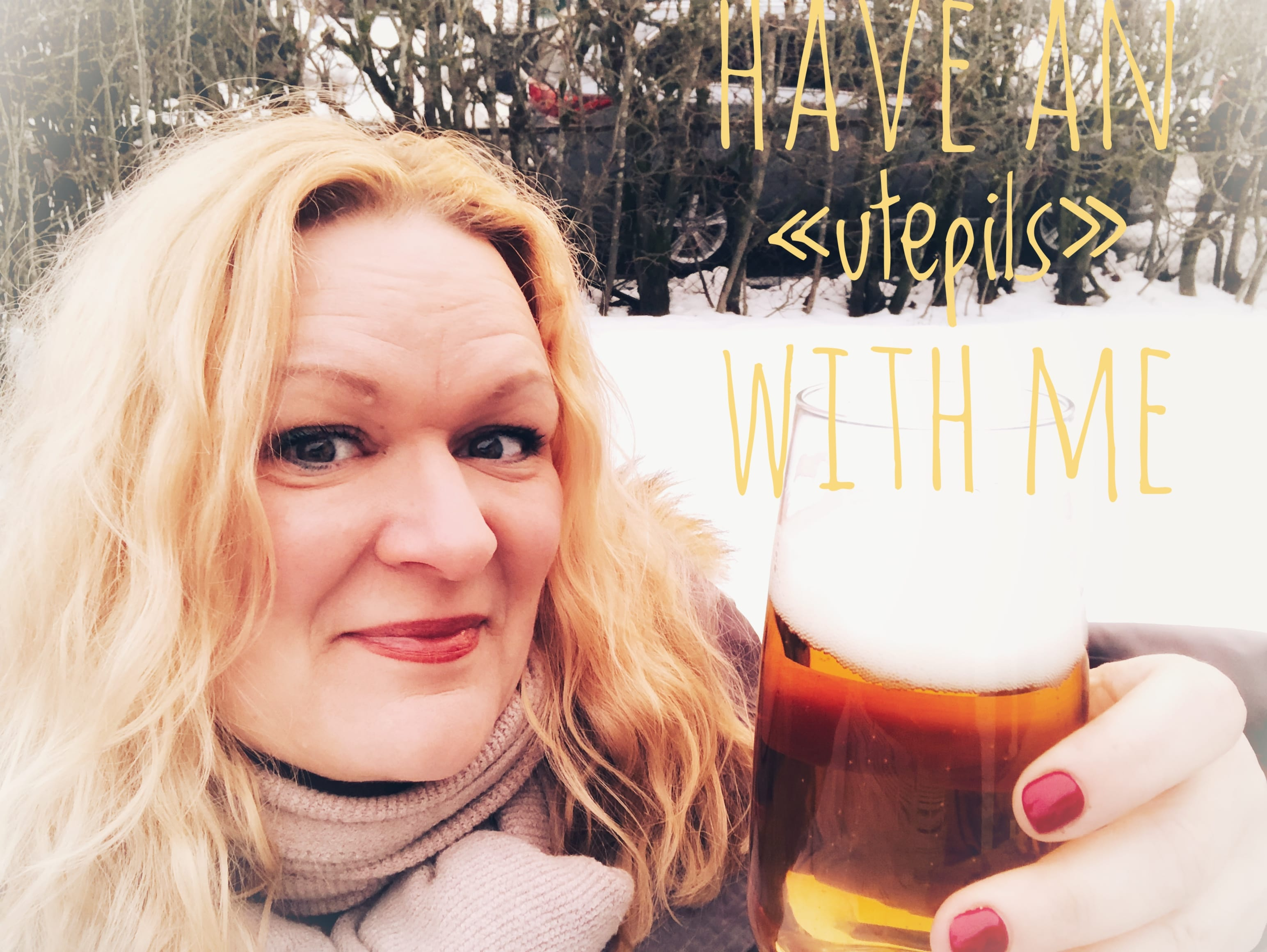 """Have an """"utepils"""" with me"""